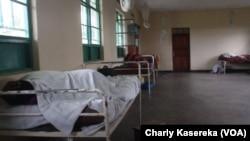 Une chambre de l'hôpital psychiatrique Tulizo Letu de Goma, en RDC, le 11 octobre 2017. (VOA/Charly Kasereka)
