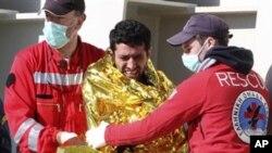 Βυθίστηκε πλοίο με λαθρομετανάστες στα ανοιχτά της Κέρκυρας