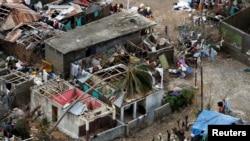 L'ouragan Matthew a fait plusieurs centaines de morts et des dégâts considérables dans le sud d'Haïti.