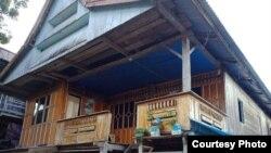 Rumah keluarga korban di Kabupaten Bantaeng, Sulawesi Selatan (courtesy: Polres Bantaeng).