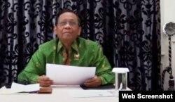 Menkopolhukam Mahfud MD. (Foto screenshot)