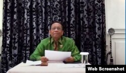 Menkopolhukam Mahfud MD. (Foto screenshot)