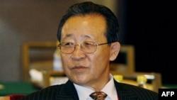Thứ Trưởng Ngoại giao Kim Kae-Gwan, người đứng đầu phái đoàn Bắc Triều Tiên