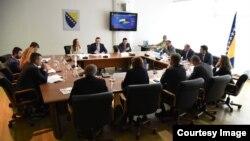 Sastanak o uspostavljanju kontakt tačke sa Europolom, Sarajevo 11.04.2018.