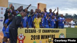 Igikombe ca CECAFA catahiwe n'igihugu ca Tanzaniya