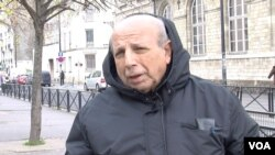 French Algerian voter Djalil Kaouti says the far right does not reflect the multi-ethnic country he now lives in, speaking to VOA in Aubervilliers, a working class Paris suburb, Dec. 13, 2015. (Photo - L. Bryant/VOA)