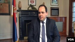 Vladimir Jovičić, otpravnik poslova ambasade Srbije u Vašingtonu