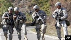 유엔 평화유지군 활동에 참여중인 미군 (자료사진)