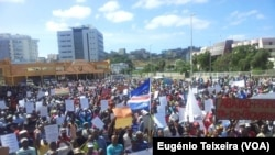 Cape Verde demonstrations