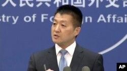 Phát ngôn viên Lục Khảng của Bộ Ngoại giao Trung Quốc.
