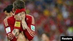 Los españoles nada pudieron hacer por anotar siquiera un gol a los chilenos.