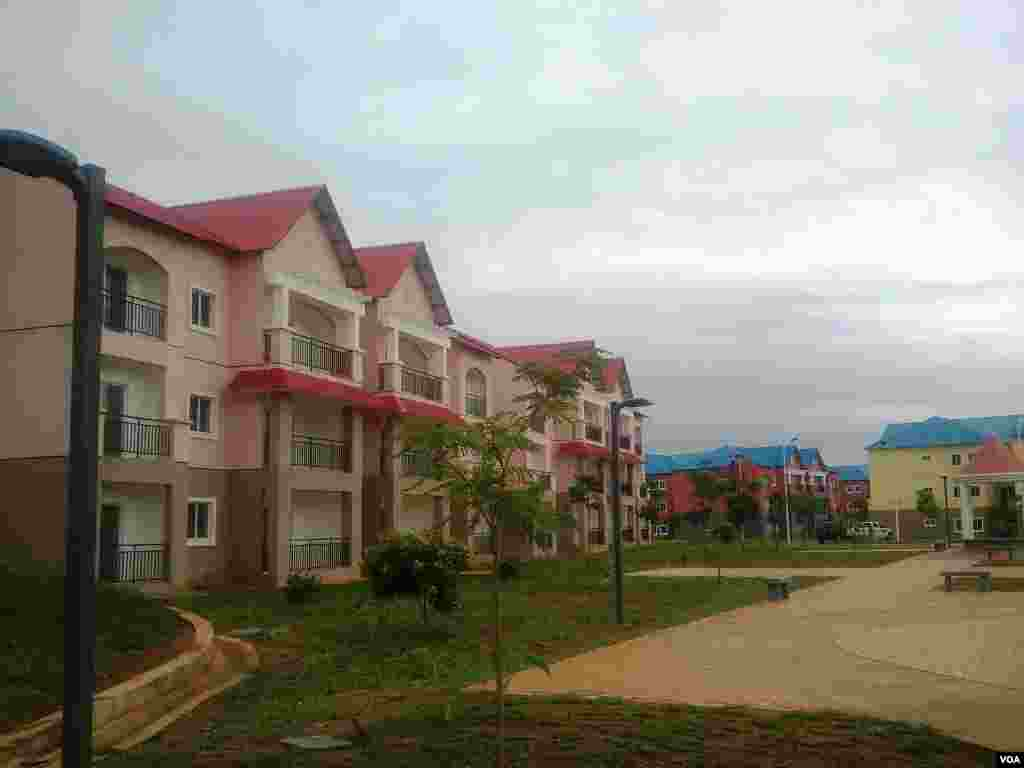 Angola Centralidade de Cabinda, projecto SONIP
