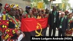 Católicos angolanos no Encontro Mundial das Famílias