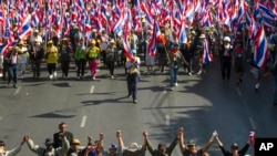 Thai Opposition Protests