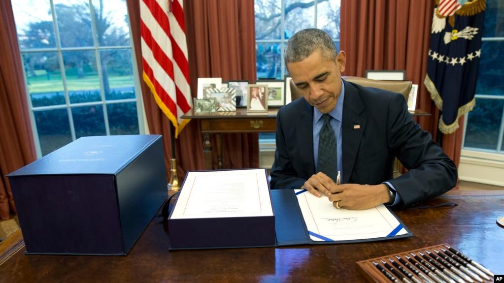 Vœux 2016 de barack obama: moins de violence par armes à feu aux usa