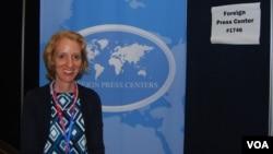 美國國務院主管公共外交的副助理國務卿蘇珊.史蒂文森。(資料圖片)