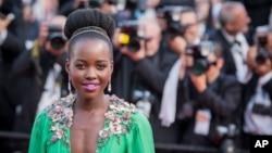 Lupita Nyong'o lors du 68e festival internationational du film de Cannes, le 13 mai 2015.