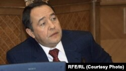 FILE - Mikhail Lesin served as Russian press minister from 1999 to 2004 and presidential media adviser from 2004 to 2009.