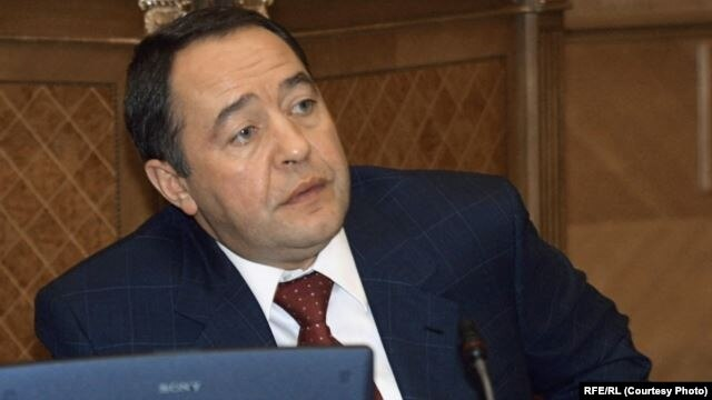 FILE - Russian officials say they want more details into the November 2015 death of Mikhail Lesin, a former press secretary to President Vladimir Putin.