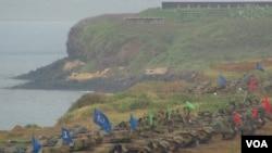 台灣漢光軍事演習資料照 (美國之音楊晨拍攝)