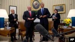 Абдо Раббо Мансур Хади и Барак Обама