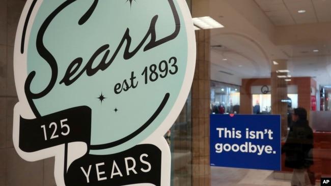 """2018年11月2日新泽西州利文斯顿购物中心西尔斯承诺: """"这不是再见"""""""