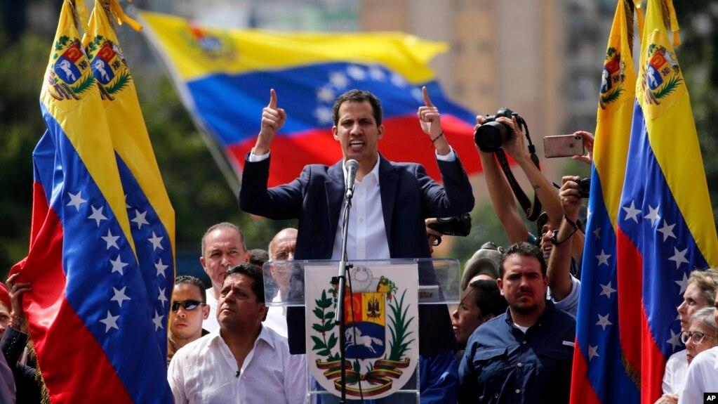 Грузинские власти признали Хуана Гуаидо временным президентом Венесуэлы