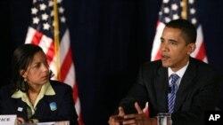 Susan Rice i predsjednik Obama