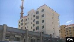 Centralidade em construção em Benguela (Foto de Arquivo)
