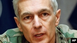 Wesley Clark, the former NATO commander who was in charge during the 1999 Kosovo air war, rejects any parallels between Kosovo and Crimea.