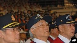 Members of the Korean Veterans Association
