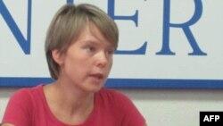 Евгения Чирикова, активист защиты Химкинского леса