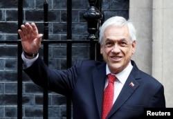 Presidente de Chile, Sebastián Piñera, visita Londres. [Archivo]