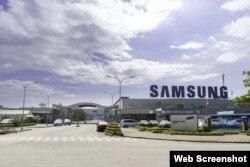 Nhà máy Samsung Bắc Ninh. Photo NLD