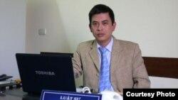 Luật sư Trần Thu Nam, đại diện pháp lý của ông Lê Quốc Quân.