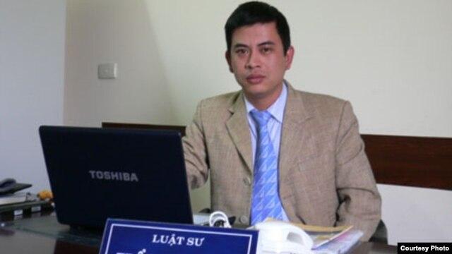Luật sư Trần Thu Nam.