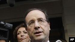Umwe mu Bahiganwa mu Ncuro ya Mbere y'Amatora mu Bufransa, Francois Hollande