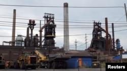 美國政府指責外國鋼材威脅到本國鋼鐵產品與就業 (資料圖片)