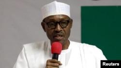 尼日利亚总统布哈里。