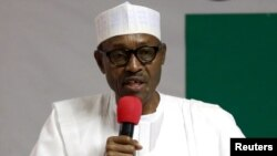 Shugaban Kasa Muhammad Buhari na jam'iyyar APC