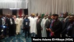 Farfesa Yemi Osinbajo a taron kasashen Afirka akan yaki da cin hanci da rashawa da ya gudana a Abuja