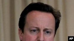 Visiting British Prime Minister David Cameron (file)