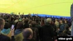 Донецьк, мітинг за єдність України