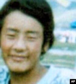 Losang Jamyang đã tự thiêu trên đường phố của thành phố Aba ở miền tây Trung Quốc hồi tháng Giêng
