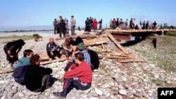 Абхазские беженцы в Грузии