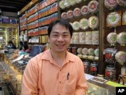 迪化街商家老板郭柏宏