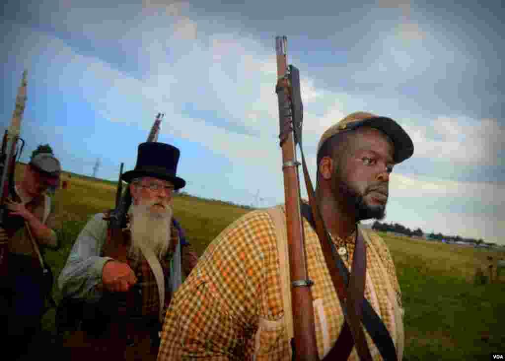 Солдаты армии Юга
