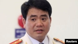 Chủ tịch Ủy ban Nhân dân thành phố Hà Nội Nguyễn Đức Chung.