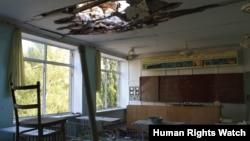 乌克兰顿涅茨克州42号学校2015年一月和二月间遭到6次袭击。