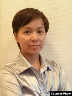 Cô Nguyễn thị Ngọc Anh, thành viên admin của nhóm Facebook 'Tôi và sứ quán'